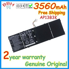 Genuine original AP13B3K Battery for Acer Aspire V5 M5-583P V5-572P V5-572G 41CP6/60/78 AL13B3K 3560mAh 53Wh batteria AKKU