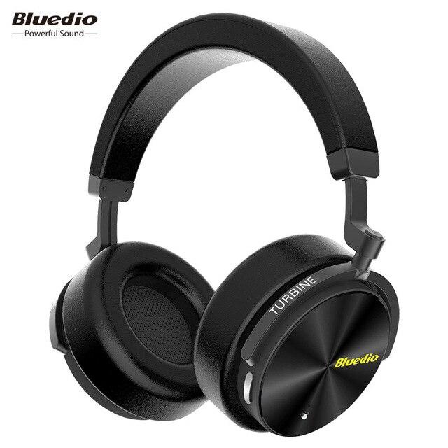 100% Orignal Bluedio T5 Cuffie Senza Fili di Bluetooth Portatile Auricolare Cuffie con Microfono per Telefoni Cellulari e Musica
