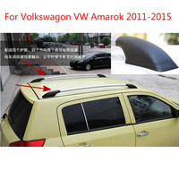 For Volkswagon Amarok 2011 2012 2013 2014 2015 Aluminium Alloy Black Roof Rack With Screws Roof Luggage Carriers Baggage Holder