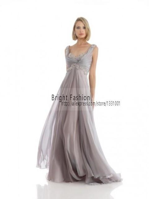 Longo Mãe Das Noivas Vestidos Para Casamentos 2015 New Arrival Sexy Chiffon Vestido De Madrinha Apliques Vestidos de Festa Para As Mulheres 1331001