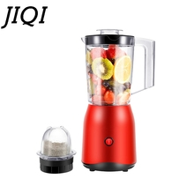 JIQI, exprimidor eléctrico de frutas y verduras, procesador de alimentos para bebés, licuadora, batidora, picadora de carne, máquina para hacer jugo, máquina EU