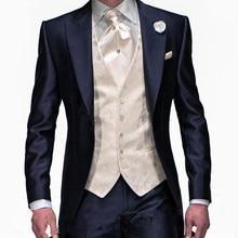 Hot Sale Custom Groom Tuxedos Formal Wear Wedding Suits Groo