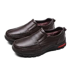 Image 4 - VANCAT zapatos de negocios de piel auténtica para hombre, calzado Formal hecho a mano, de alta calidad, para nieve, talla 38 48