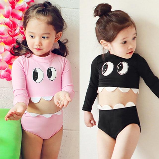 d08028e4da Girls Swimwear 1-5 years old Baby Swimwear Kids Girls Bikini Infantil Swimsuit  New Summer