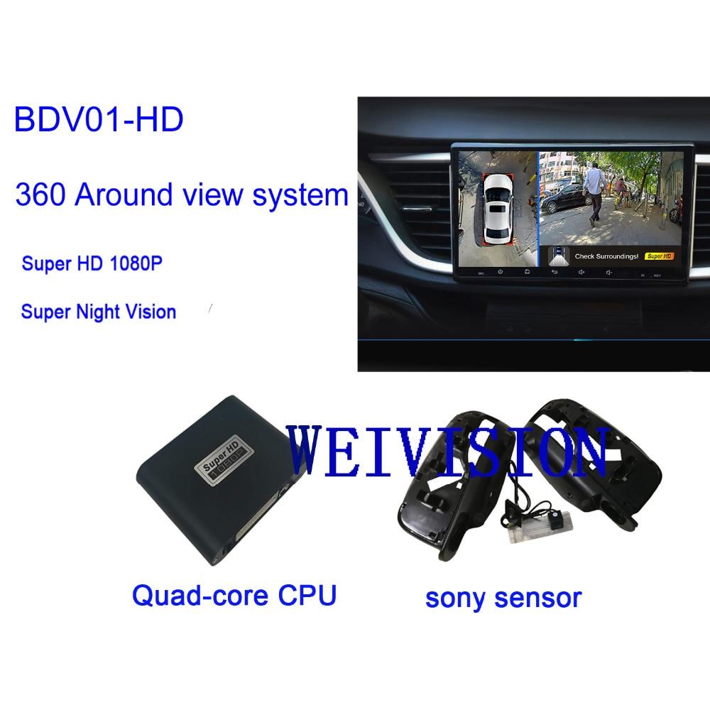 Weivision 1080p 360 Degree Bird View System Panoramic All Renault Koleos Wiring Diagram Round Camera With Car Dvr For Kadjar