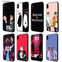 Мягкий силиконовый чехол Lavaza marus & Martinus brothers для Apple iPhone 6 6 S 7 8 Plus 5 5S SE X XS MAX XR TPU Чехлы(China)