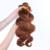 Coloridas Extensões de Cabelo Peruano Onda Do Corpo Do Cabelo Virgem #30 Mel Marrom 3 Pçs/lote Cabelo Humano Tece Cabelo Rainha Ensolarado produtos