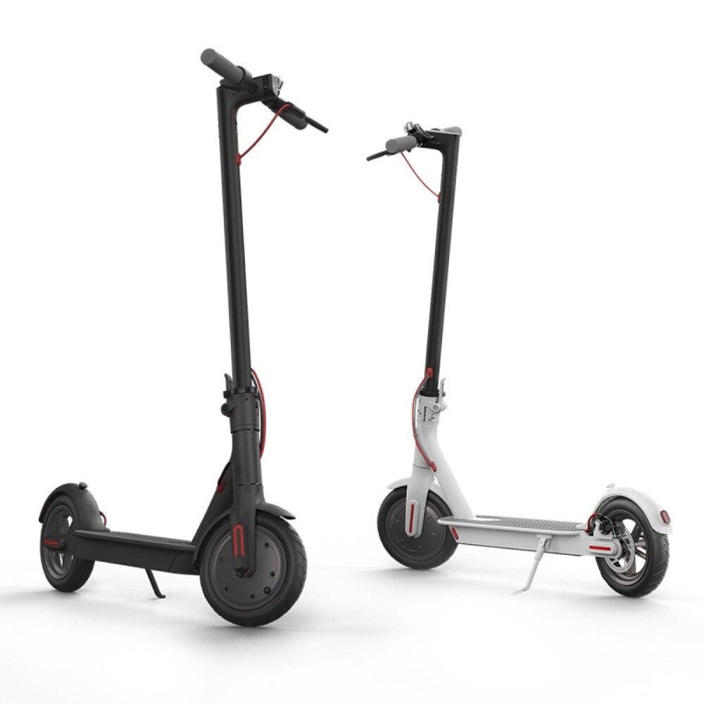 Offre spéciale nouveauté Scooter électrique Smart pliant électrique Longboard Hoverboard 8.5 pouces blanc noir livraison gratuite