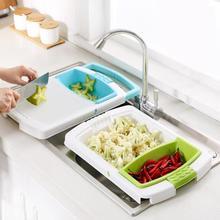 Универсальный кухонные измельчители раковины Слива корзина резка доска Овощной инструменты для приготовления мяса кухня интимные аксессуары разделочная доска