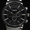 Nueva casual curren relojes de los hombres de primeras marcas de lujo reloj militar hombres de acero completo relojes de pulsera del deporte de la moda del relogio masculino