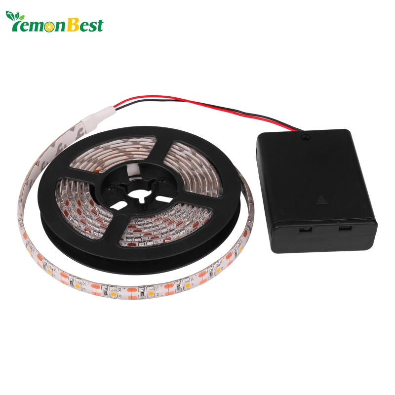 led strip light rgb warm cool waterproof ip65 2m 1m. Black Bedroom Furniture Sets. Home Design Ideas
