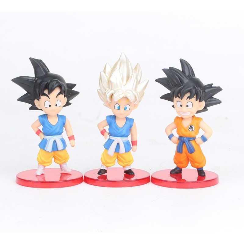 13pcs/set Dragon Ball Super Toys Son Goku/Gohan/Zen O/Trunks/Zamasu/Grand  Priest/Vegeta PVC Collectible Figurines Boys Gift Toy