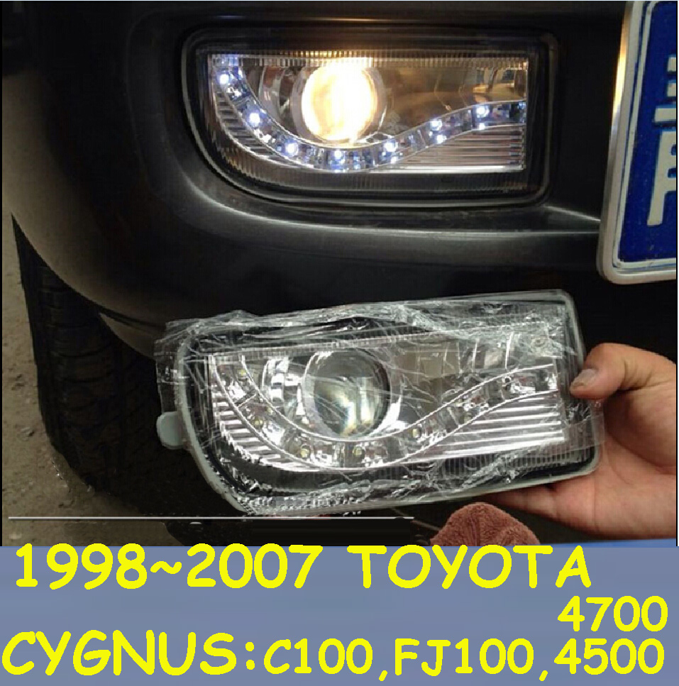 1998~2007 prado daytime light,YGNUS,chrome,LC100,FJ100,4500 4700,SUV,Free ship!LED,prado fog light,2ps/set,cruiser