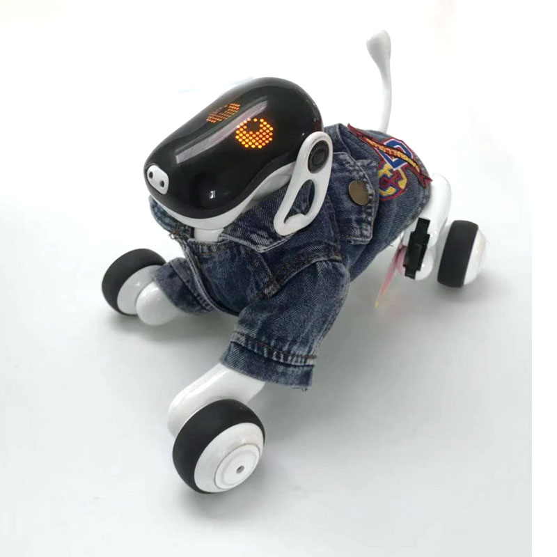HeLIC Max Remote Control Intelligent Robot Dog AI Electronic Pet Mobile APP Manipulation Bluetooth Speaker Multi-function