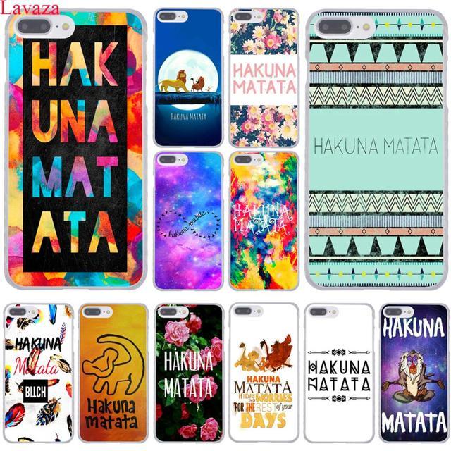 coque iphone 8 plus le roi lion hakuna matata