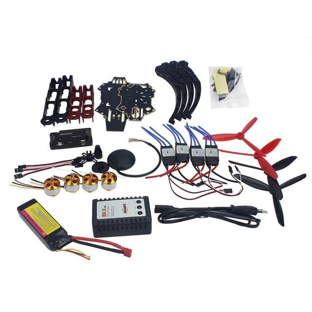 RC Drone Квадрокоптер 4-осный Самолет Комплект Q330 Через 6 М GPS APM 2.8 Полет Управления NoTransmitter F11797-G
