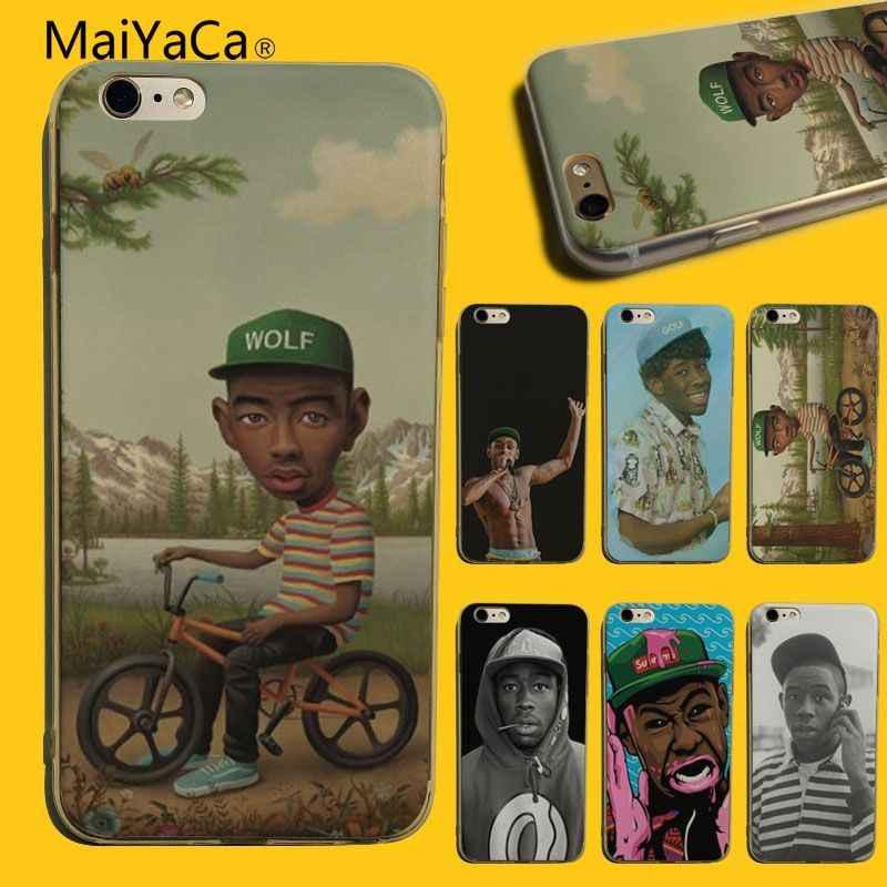 MaiYaCa tyler die creator Diy Druck Zeichnung TPU telefon fall Für iphone 7 7plus X XS XR XSMax 8 8plus 6s 6 6plus 5 5s SE abdeckung