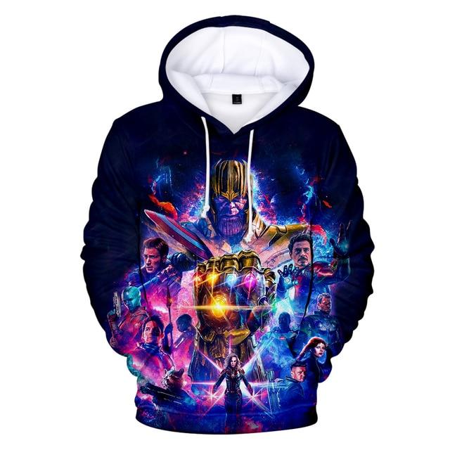 Avengers Endgame Quantum Realm Sweatshirt with hooded Advanced Tech Hoodie Cosplay Costumes 2019 new superhero Iron Man Hoodies 5