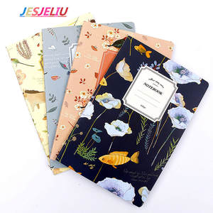 a5 32 pages planner nature animal plant notebook notepad diary journal office school