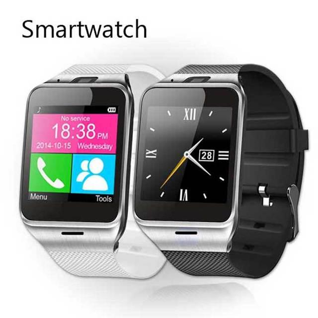 Aplus gv18 smart watch montre conector à prova d' água bluetooth smartwatch relógio de pulso android nfc dispositivos wearable com o cartão sim