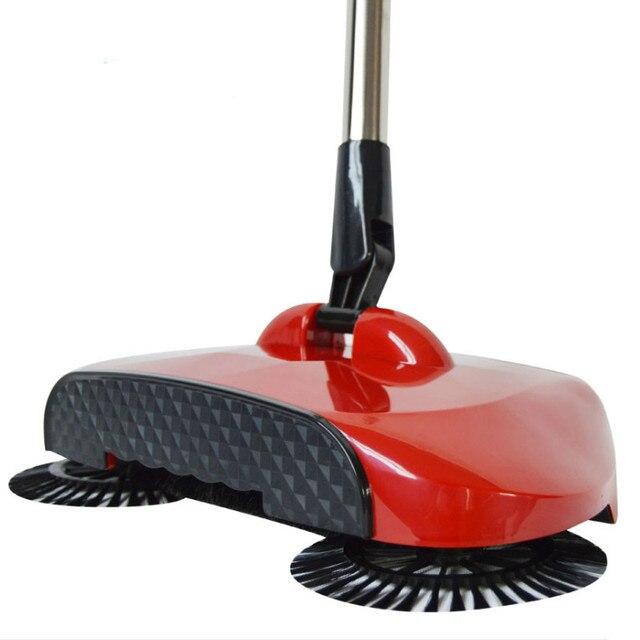 Hand Held Vertical Vacuum Cleaner No Need Electricity Mop Magic Broom Floor Sweeper