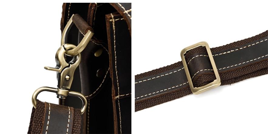 HTB1WEtzQMHqK1RjSZFEq6AGMXXat MAHEU Luxury Fashion 100% Genuine Leather Men Briefcase Cow Leather Laptop Bag Vintage Shoulder Bag Real Cowhide Computer Bag