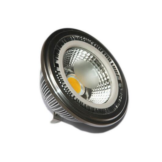 COB G53 7 W AR111 QR111 12 V blanc chaud blanc froid LED ampoule de projecteur livraison gratuite