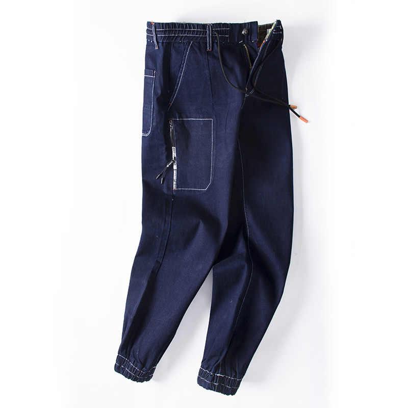 2019 frühling sommer männer jeans gerade blau jeans männer plus größe S-6XL balmai jeans männer druck mode broek mannen jeans