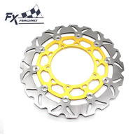 FX Aluminum Stainless Steel Motorcycle 320mm Floating Front Brake Disc Rotor For Yamaha YZF R25 R3