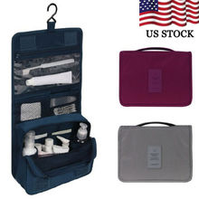 Portable Hanging Travel Toiletry Bag Large Capacity Waterproof Wash Makeup Organizer Cosmetic