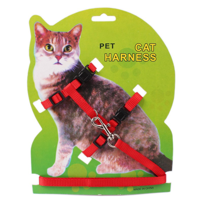 Christmas Pet Cat Traction Rope pattern Collar Suit Traction Xmas Dress Up Puppy Leash Collar Set Pet Supplies