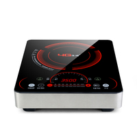 Household Induction Cooker 3500W High Power Intelligent Touch Electric Cooktop Waterproof Panel 8 Files Hot Pot Induction Stove