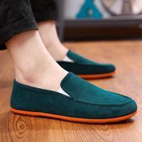 Dwayne/2019 г.; Мужская разноцветная парусиновая обувь в горошек; модная повседневная обувь без застежки; большие размеры; Мужская обувь для вожд...
