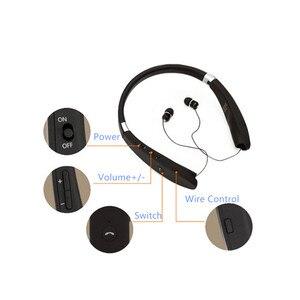 Image 4 - Kablosuz Bluetooth gerdanlık SX 991 V5.0 spor Stereo SX991 kulaklık kulaklık için MIC ile bas IPhone LG Android Fone De Ouvido