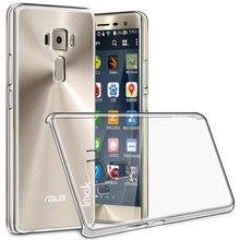 IMAK Crystal Clear Silicone Case for Asus Zenfone3 ZE552KL Case Носимых Hard Case for Asus Zenfone3 ZE552KL 5.5 дюймов Охватывает
