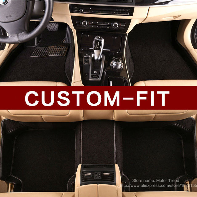 Custom Fit Car Floor Mats For Nissan Altima Rouge X Trail Murano