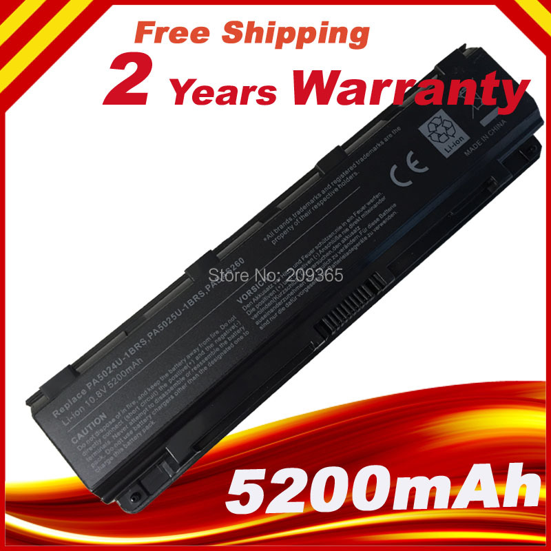 Battery For Toshiba Satellite C800 C805 C850 C855 L800 L840 L855 PA5024U-1BRS, цена и фото