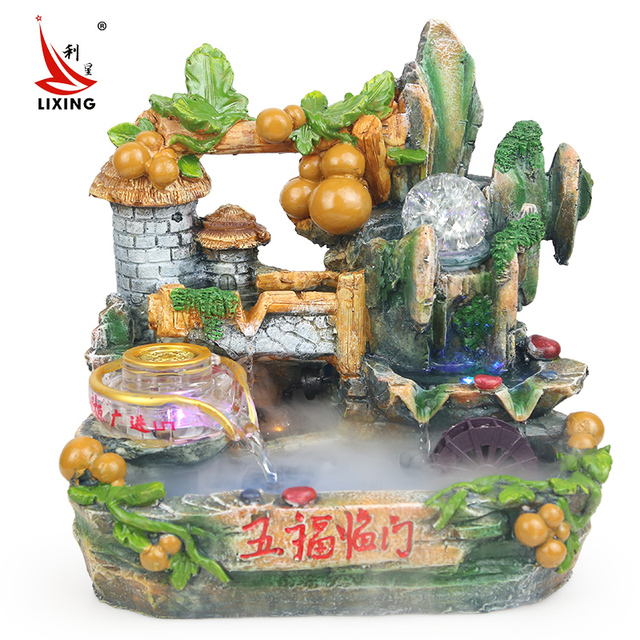 The Living Room Decor Gifts Crafts Five Blessings Descend Upon House Feng Shui Lucky Round