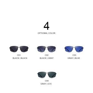 Image 4 - Merrys DESIGN Classic Square แว่นตากันแดด Polarized สำหรับขับรถกีฬากลางแจ้ง Ultra   light UV400 ป้องกัน S8131