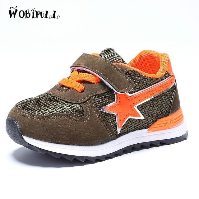 e844968ea719c WOBIPUL 2017 nuevos zapatos deportivos para niños
