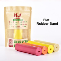 2mm Length Slingshot Rubber Band 0.5mm 1.0mm Thickness High Quality Flat Elastic Rubber Band For Hunting Catapult