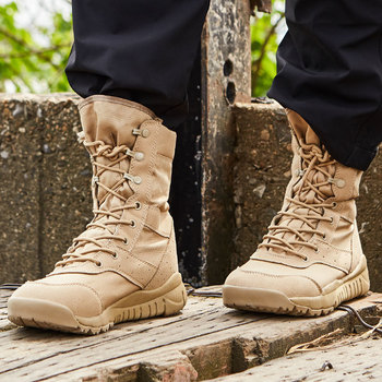 Outdoor Climbing Training Military Combat Tactical Boots Men Desert Army Boots