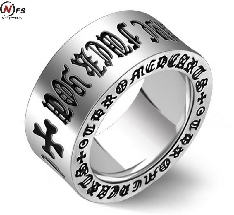 Om mani padme hum mens ring wide titanium steel rings for for Best mens jewelry sites