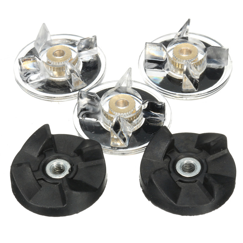 New 3 Plastic Gear Base + 2 Rubber gear for Magic Bullet Replacement Spare Parts Durable Quality