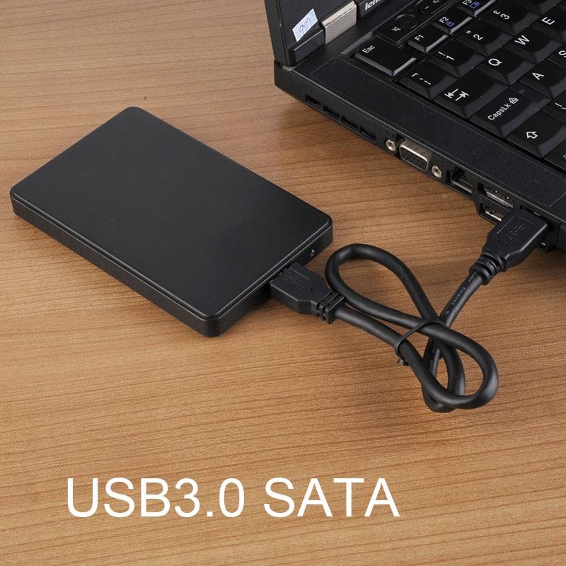 Tragbare USB3.0 Festplatte STAT Stick 5 Gbps 2,5 zoll Unterstützung 2 Externe HDD Gehäuse Fall SL @ 88