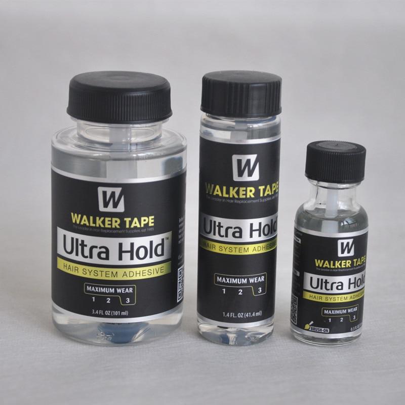 Ультраудерживающий жидкий Бонд для волос 15 мл/41,4 мл/101 мл, профессиональная клейкая щетка, силиконовый клей для париков/закрывания