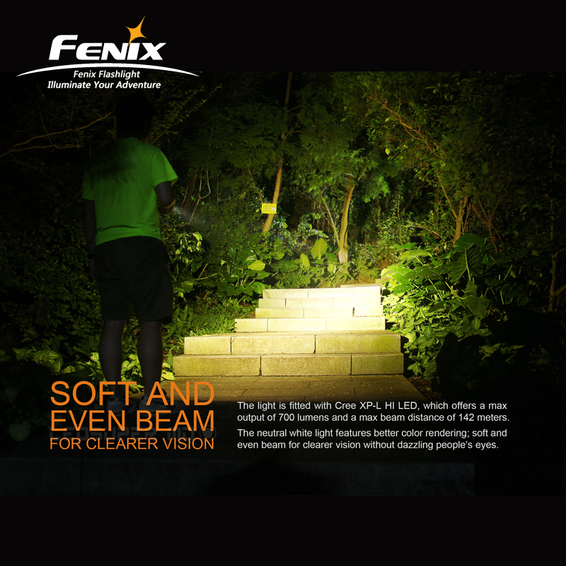 Image 3 - 700 Lumens Portable Fenix E16 Cree XP L HI Neutral White LED EDC Flashlight with outstanding Performance-in Flashlights & Torches from Lights & Lighting
