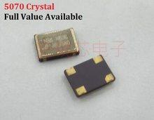 5 Pcs 5070 4PIN Actieve Kristaloscillator 4/6/8/10/12/16. 384/20/24/25/30/40/50/80/125/32. 768/11. 0592/4. 9152/22. 1184/Mhz/M 5X7MM