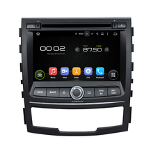Android 8.0 octa core 4GB RAM car dvd player for SsangYong Korando 2010-2013 ips touch screen head units tape recorder radio