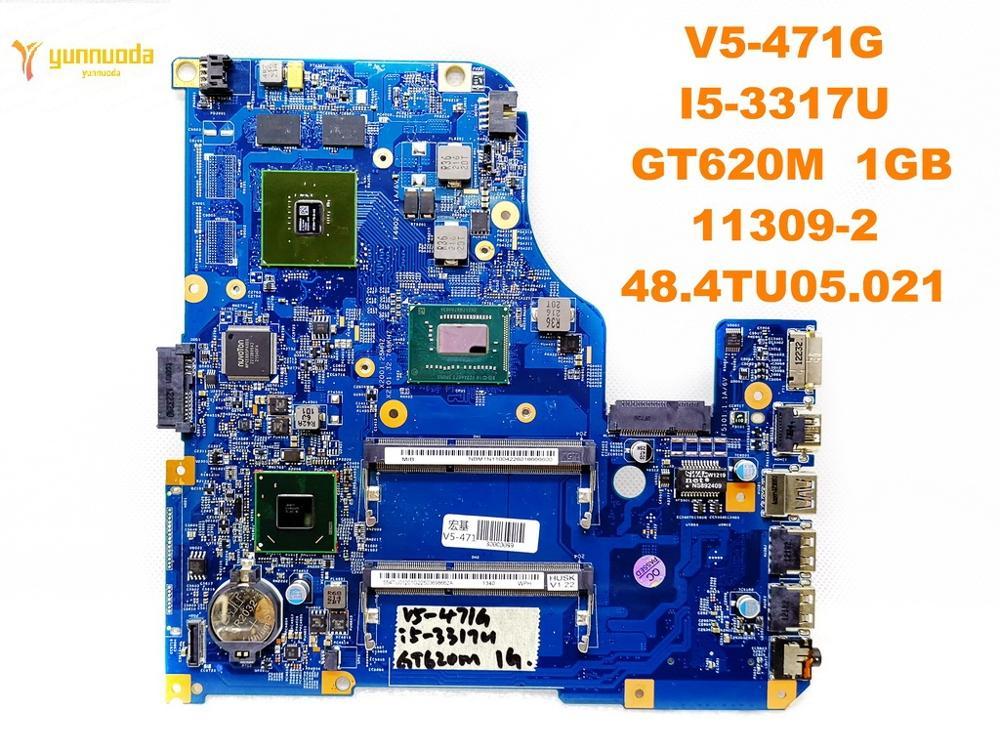 Original for font b ACER b font V5 471G laptop motherboard V5 471G I5 3317U GT620M